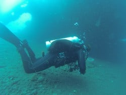 Technical diving courses on USAT Liberty Bali