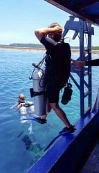 Technical Sidemount diving Indonesia