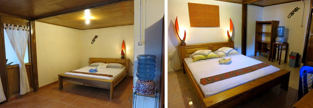 Inside standard room lembeh