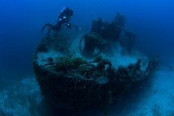 wreck diving in Truk Lagoon trip 2018