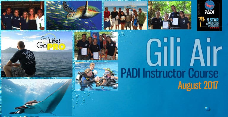 Gili Air IDC PADI Instructor Course