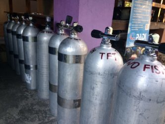 technical diving facilities at Two Fish Tech