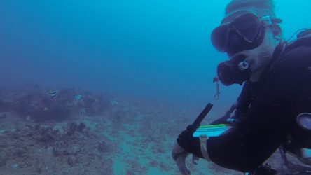 Tech diving in South Lombok