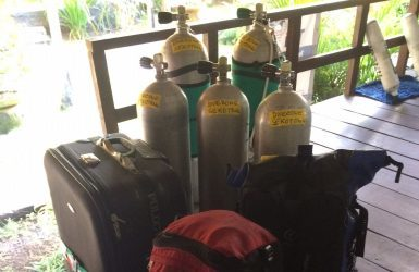 technical diving in South Lombok