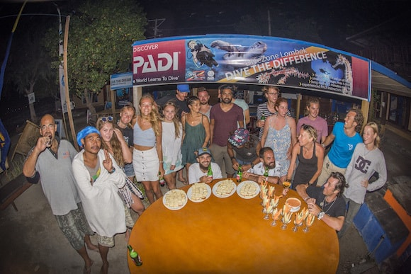 Gili Air IDC GoPro night