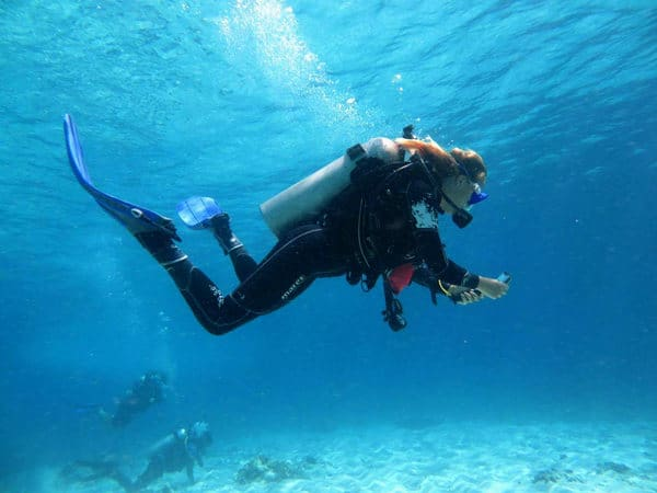 EFR diving bunaken