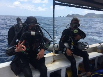 Two Fish Tech exploring Belongas Bay