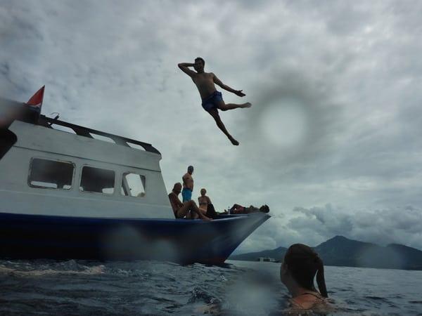 diving in Bunaken