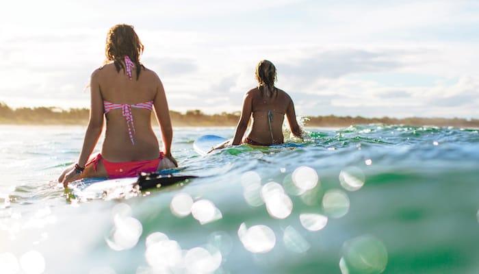 Surfing Lembongan