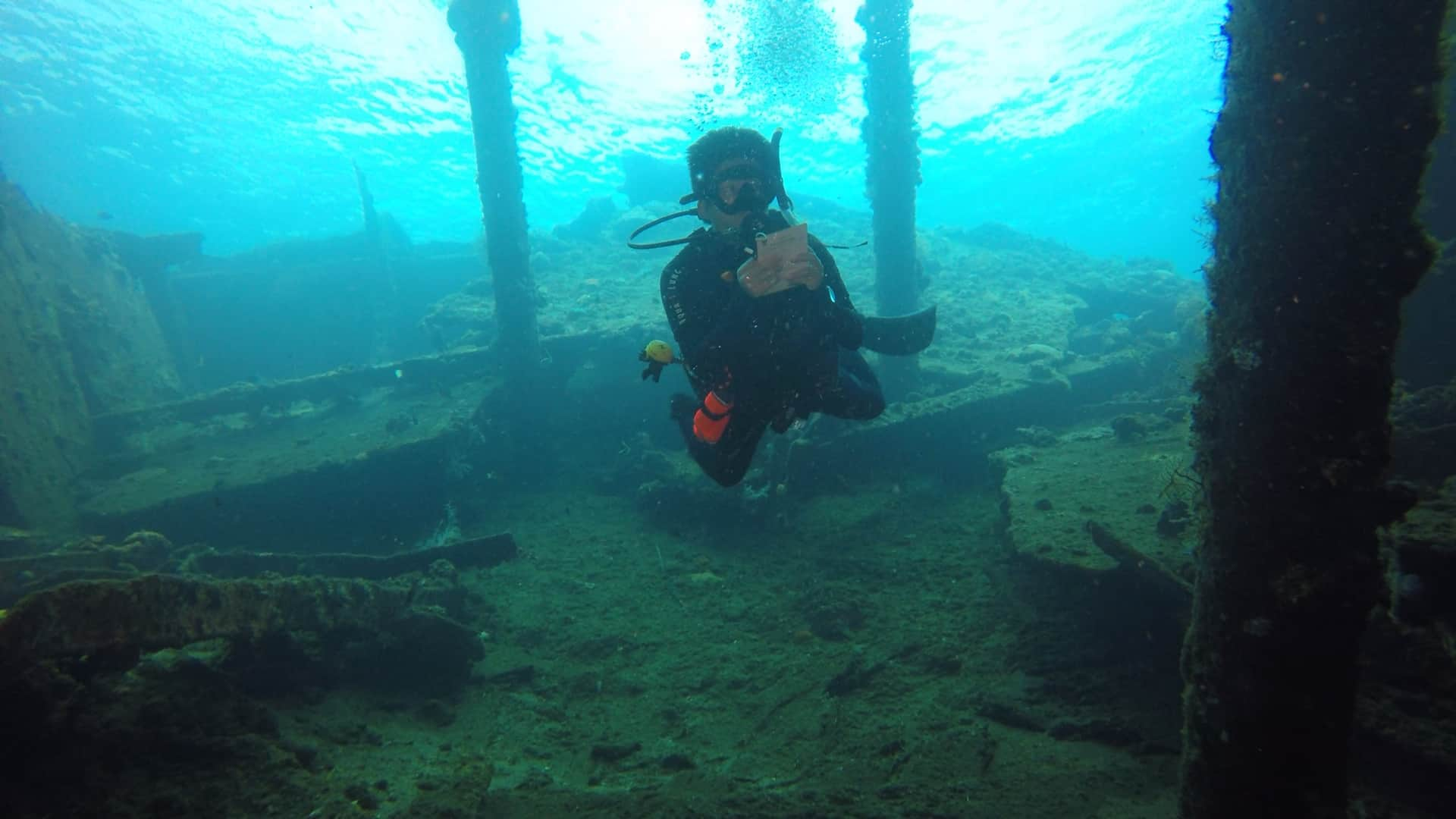 Diving in Amed and See the Legendary Wreck Ship | Two Fish Divers Amed