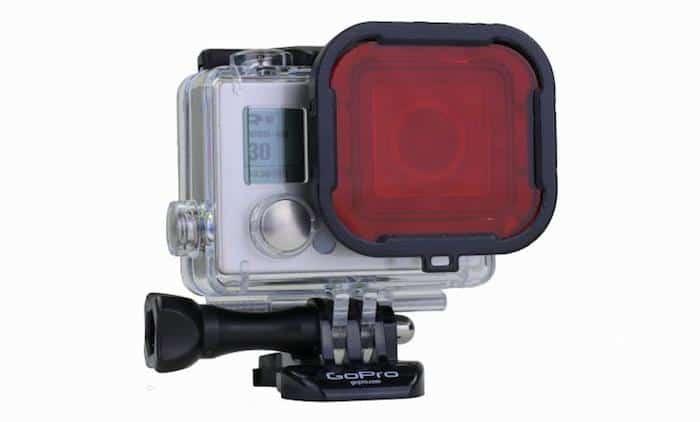 GoPro red filter