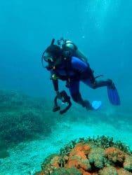 Nisha underwater