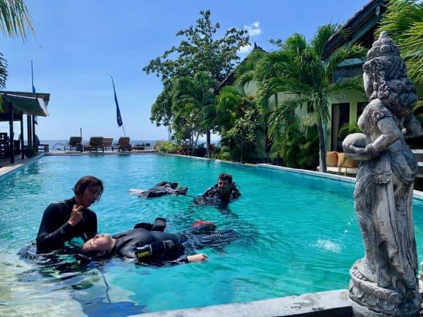 Amed Divemaster Training