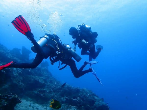 Rescue diver course in Amed