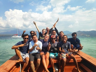 Divemaster Trainee in Gili Air