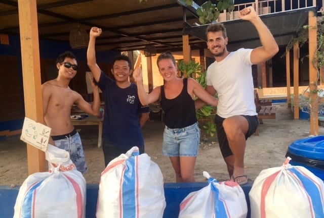 Gili Air Cleanup