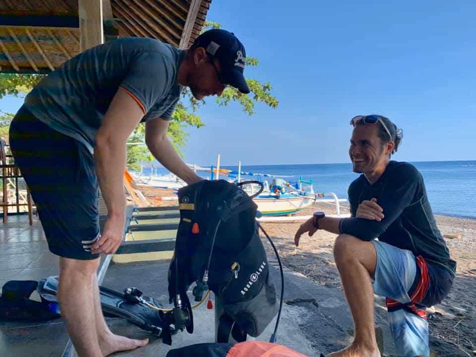 Divemaster course in Bali