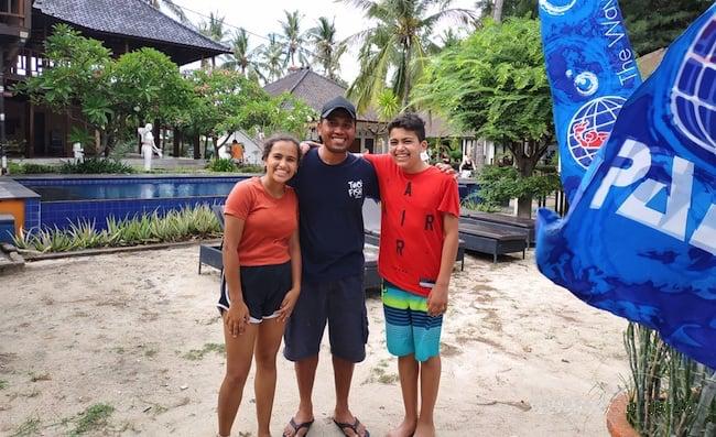 PADI Open Water Students