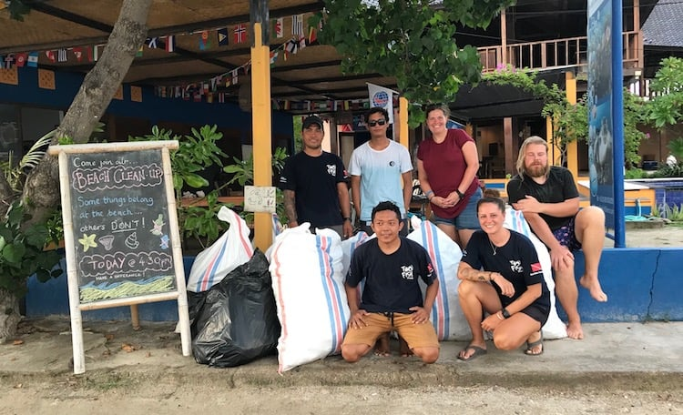 Gili Air Cleanup