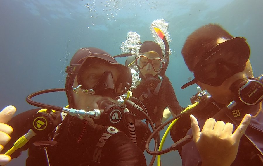 Diving Nusa Lembongan and Manta Point