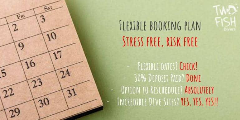 Flexible booking plan