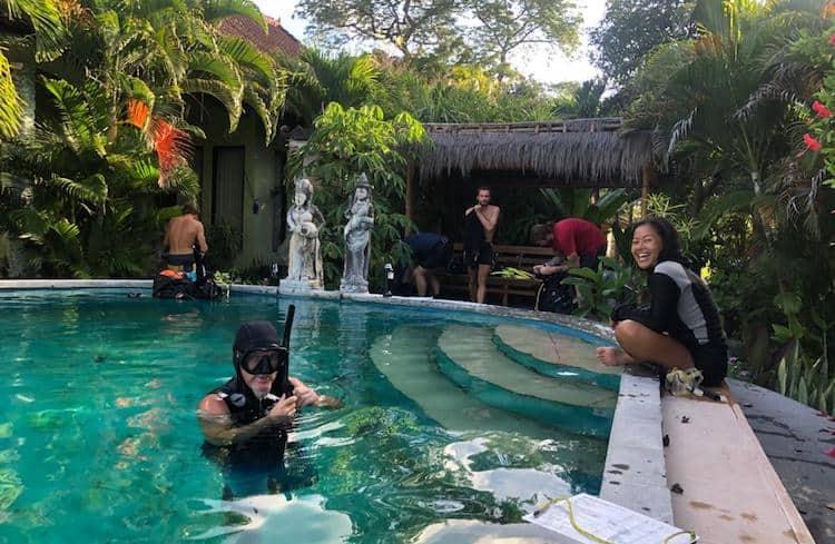 IDC pool training