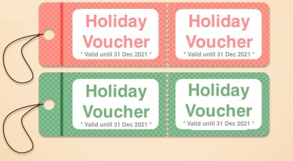 pay now holiday voucher for 2021