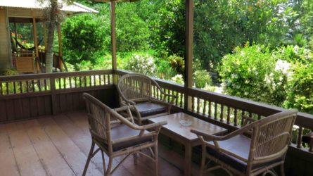 Family Cottage Bunaken Balcony
