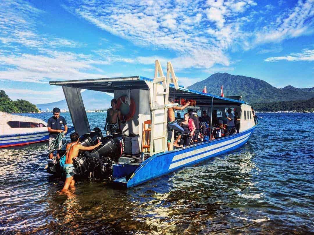 Dive Boat Lembeh